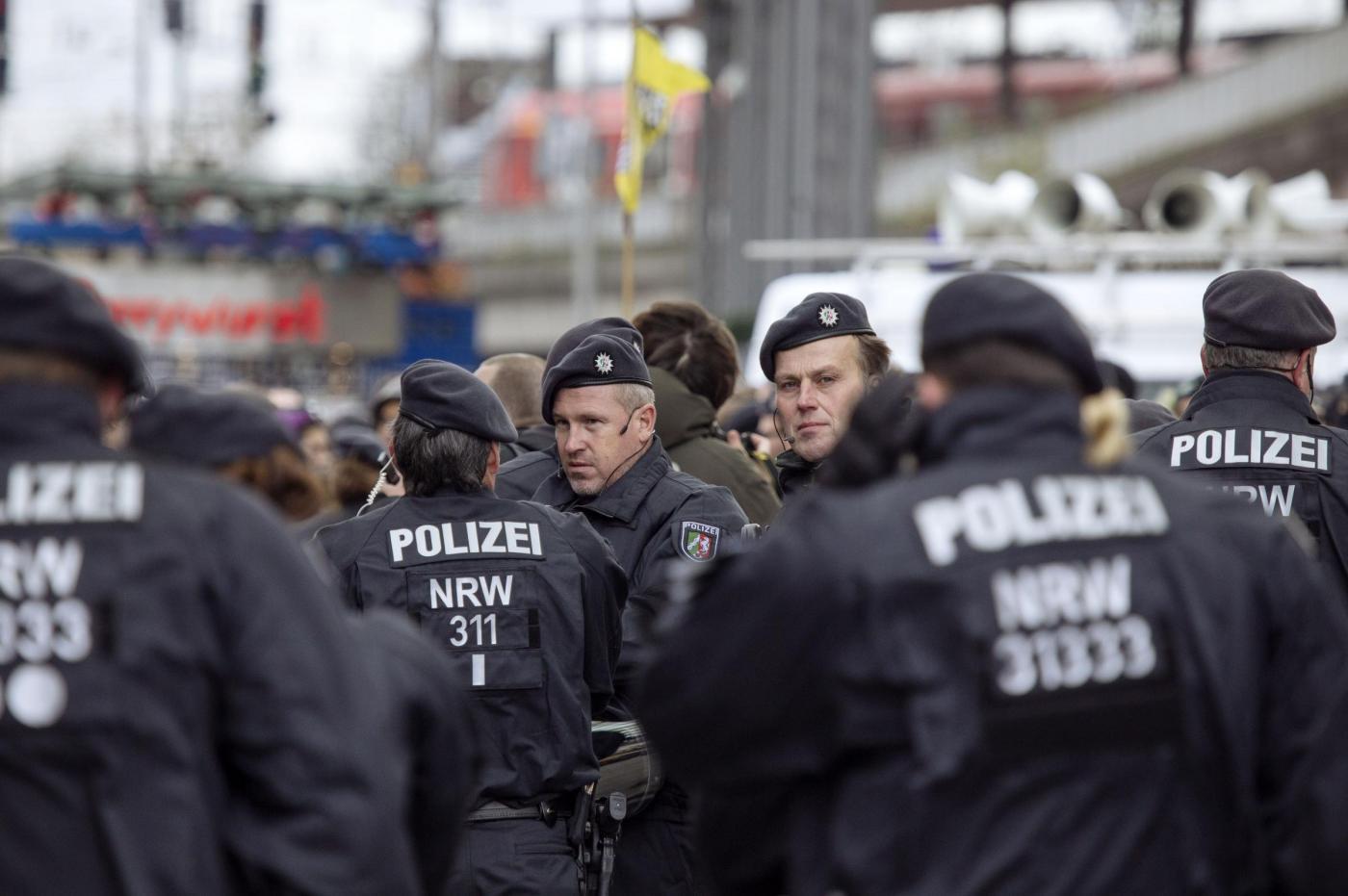 Manifestazione 'Pro NRW' di simpatizzanti per la libert e contro l'Islam a Colonia
