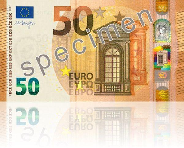 50 euro fronte