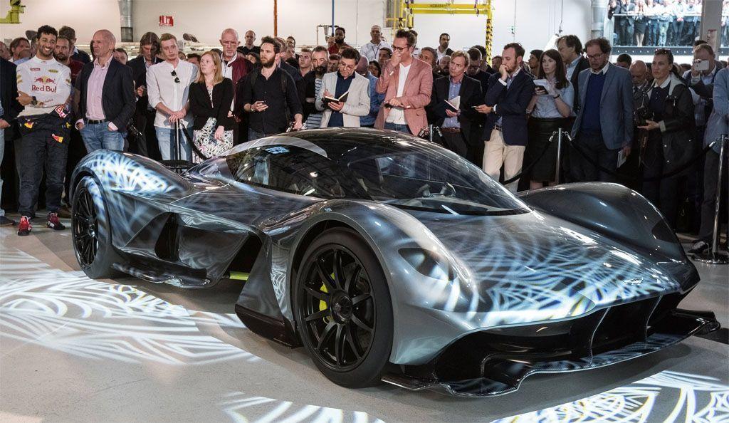Ecco l'Aston Martin Red Bull