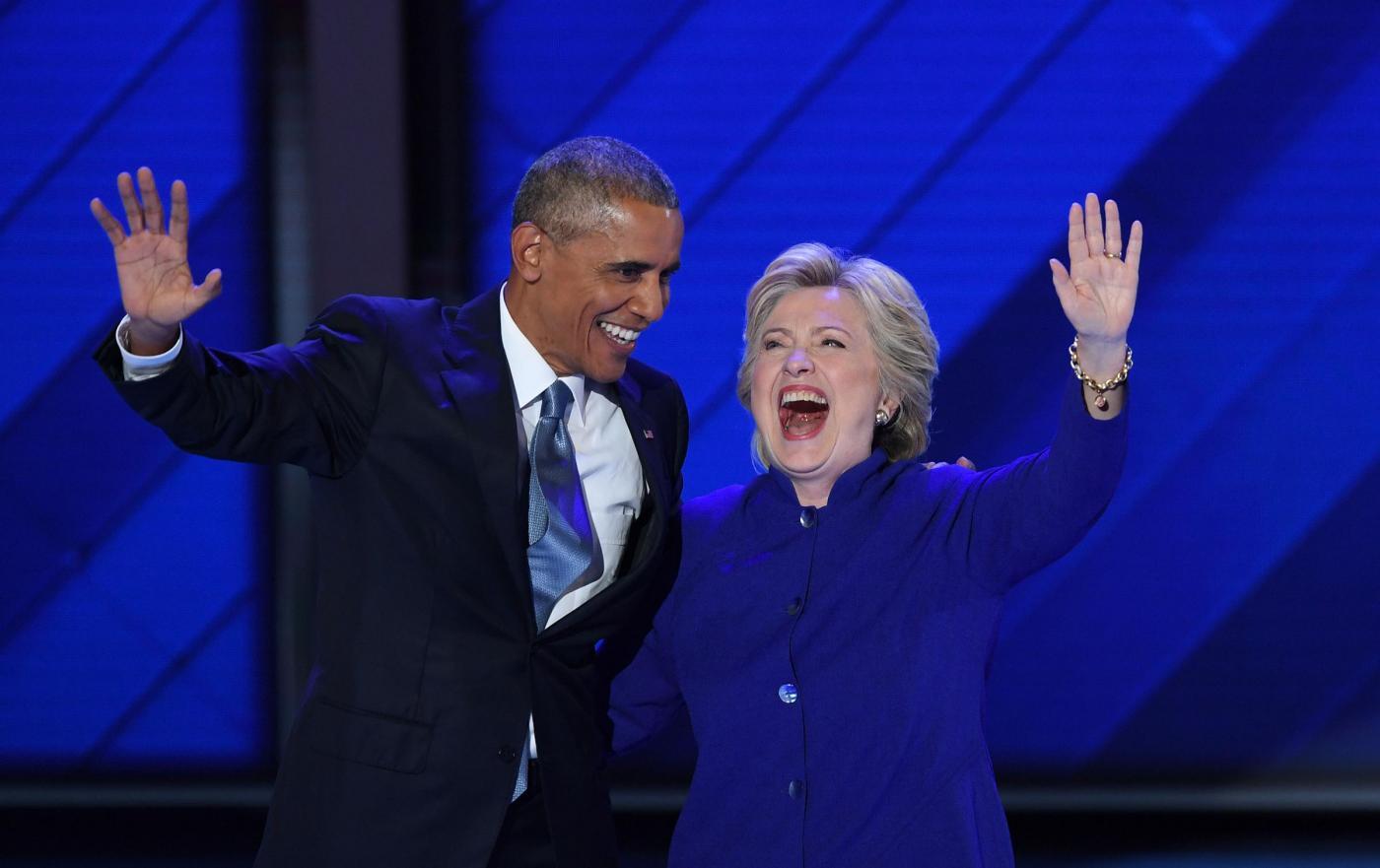 Barack Obama: 'Hillary Clinton è la più qualificata a guidare gli USA'