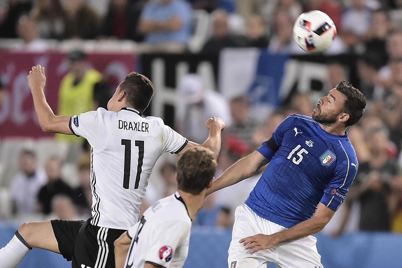 Euro 2016, Germania vs Italia Quarti di Finale