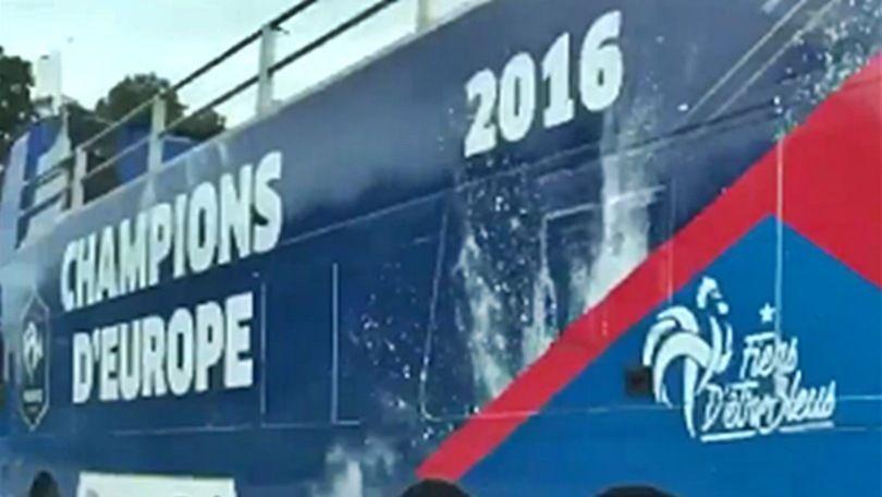 """Euro 2016: """"Campioni d'Europa""""? Il pullman porta male alla Francia"""