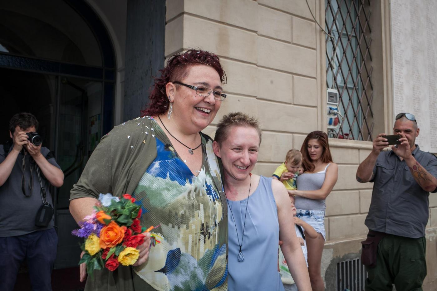 Elena e Deborah spose, la prima unione civile in Italia