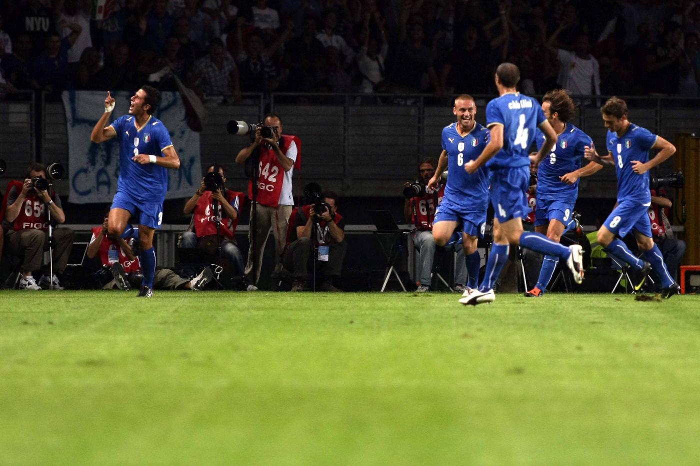Fabio Grosso gol Italia-Germania 2-0 Mondiali 2006
