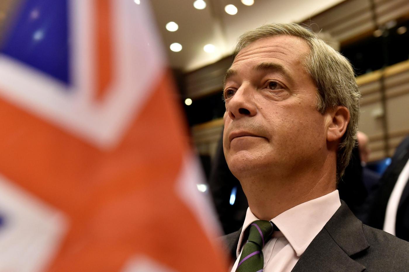 Brexit, Farage si dimette da leader dell'Ukip