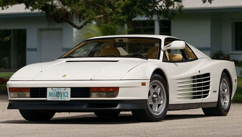 Ferrari Testarossa, l'auto della serie Tv Miami Vice