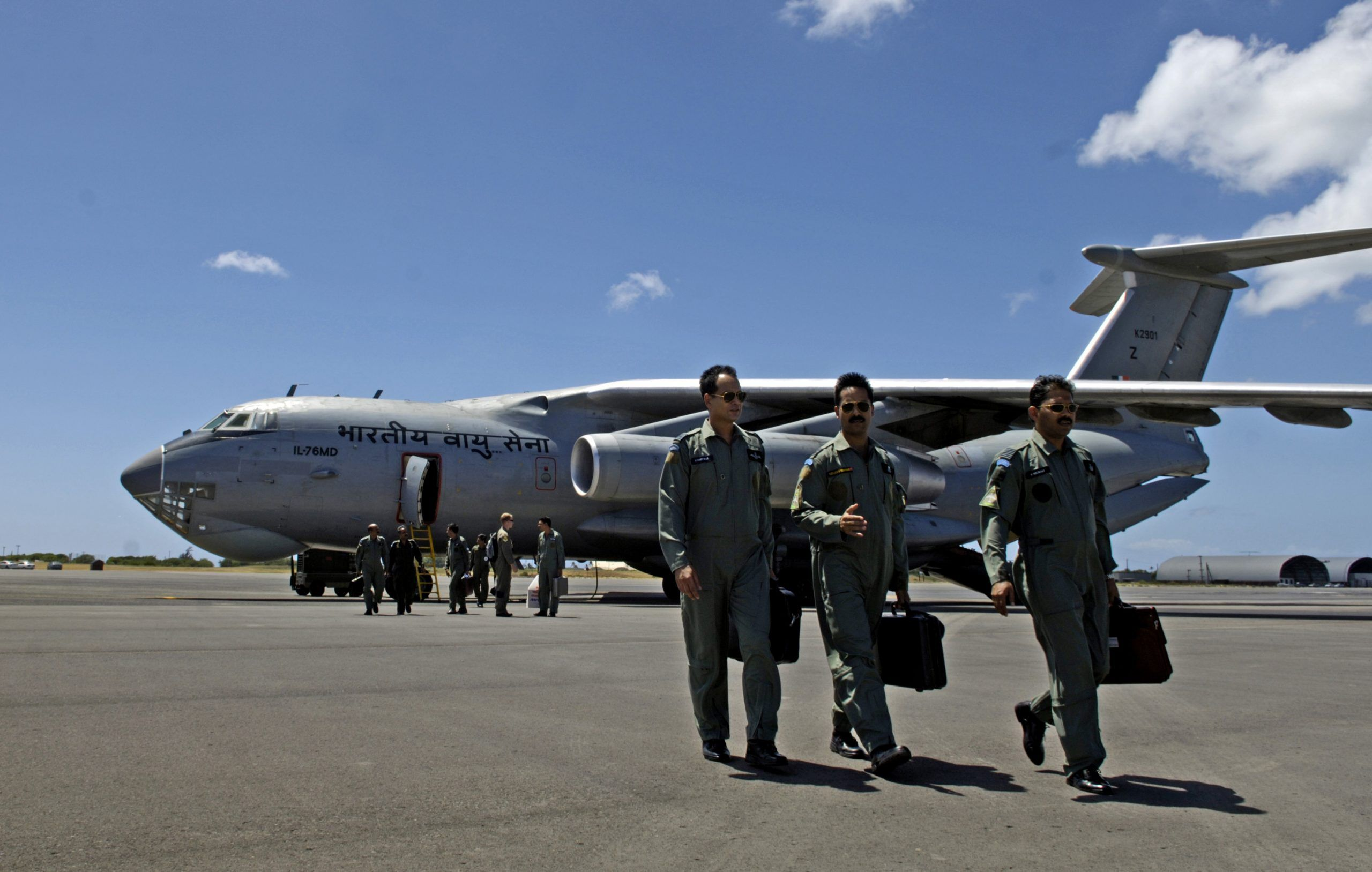 Airmen fly with Indian air force counterparts