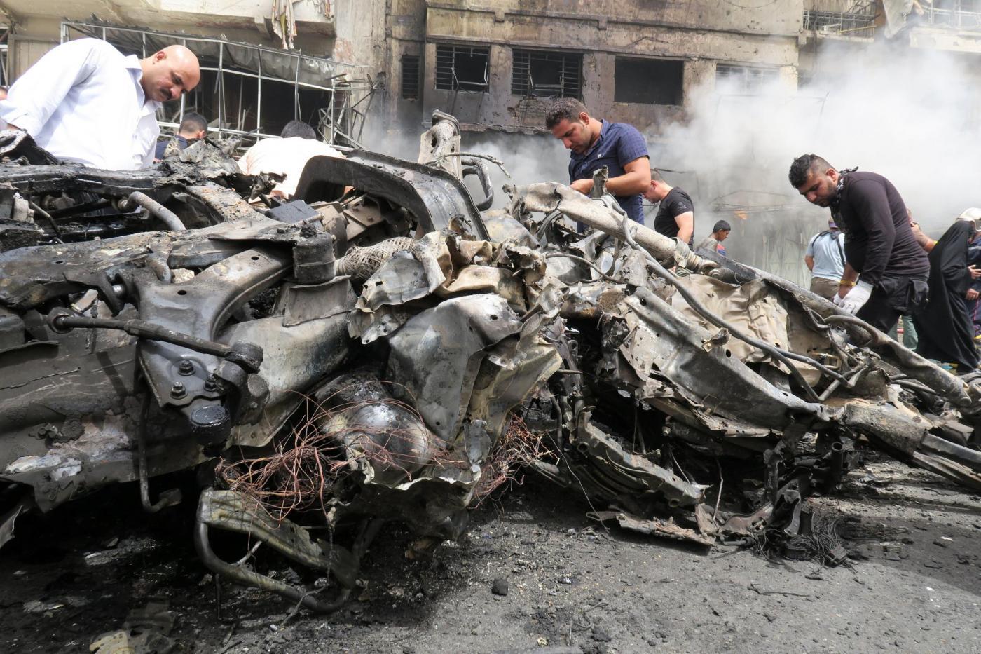 Baghdad, autobomba Isis