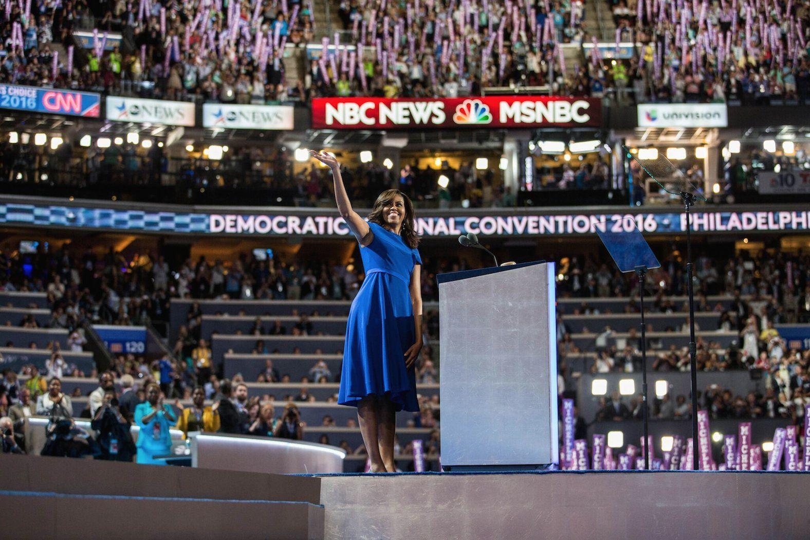 USA 2016, il discorso di Michelle Obama conquista la convention dei democratici