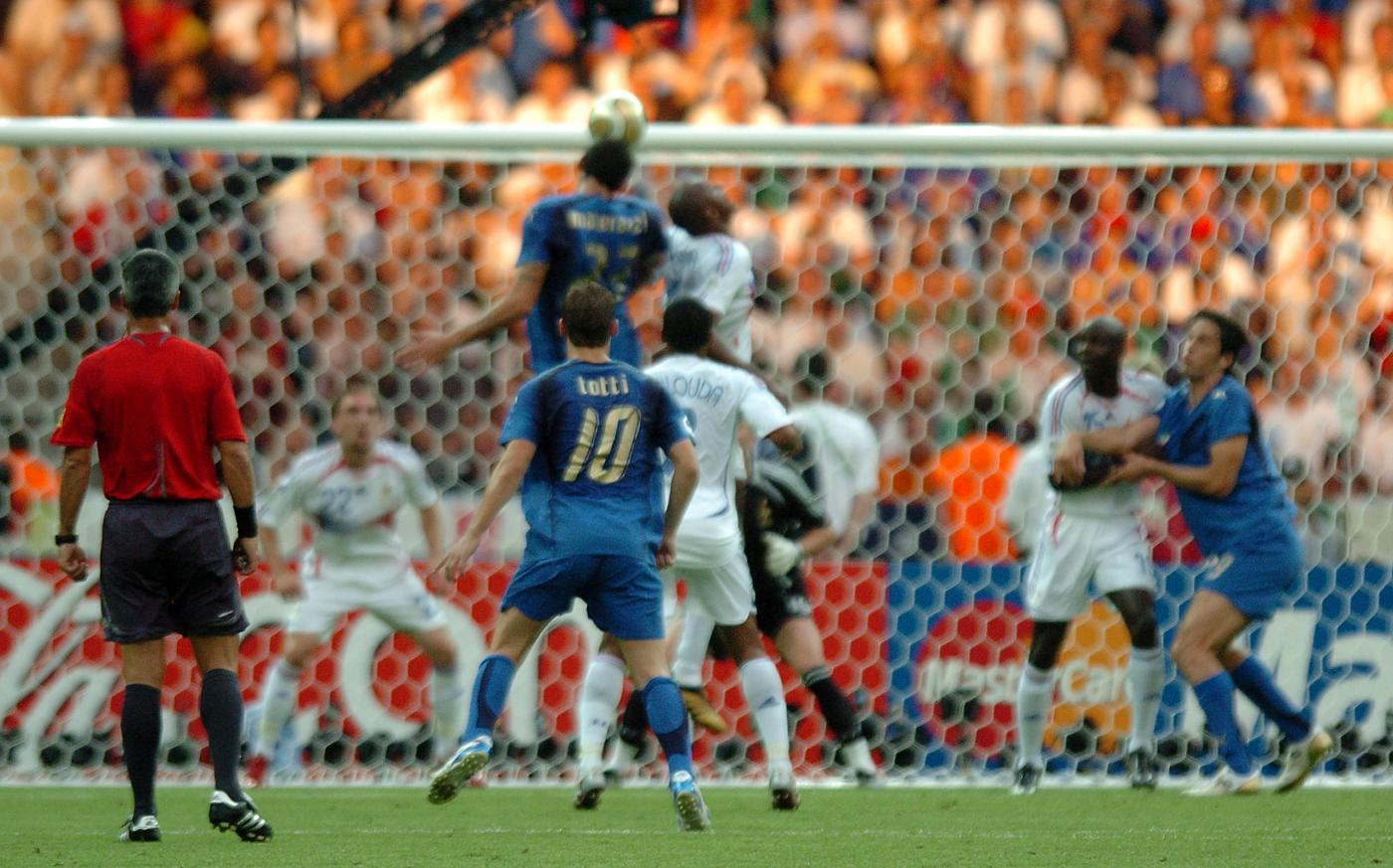 Materazzi gol Francia Mondiali 2006