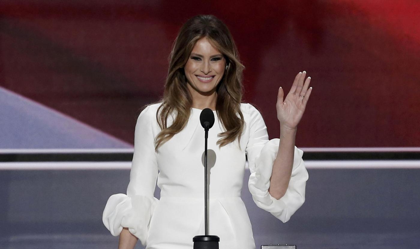 Cleveland, l'intervento di Melania Trump alla convention repubblicana