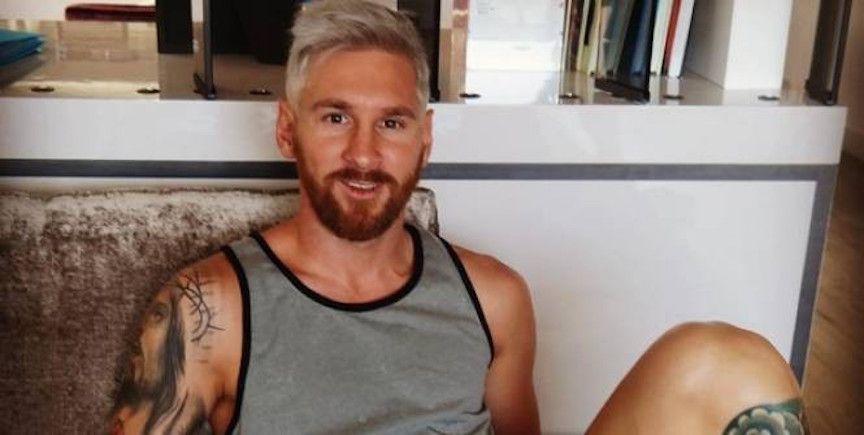 Messi cambia look: biondo platino per dimenticare le delusioni estive