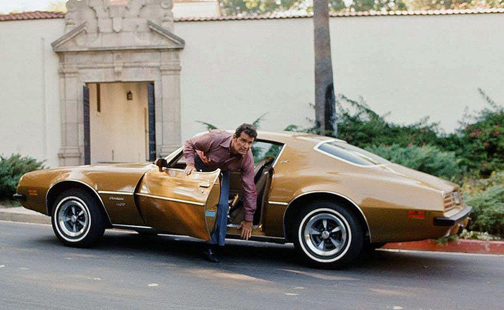 Pontiac Firebird Esprit, l'auto della serie Tv Agenzia Rockford