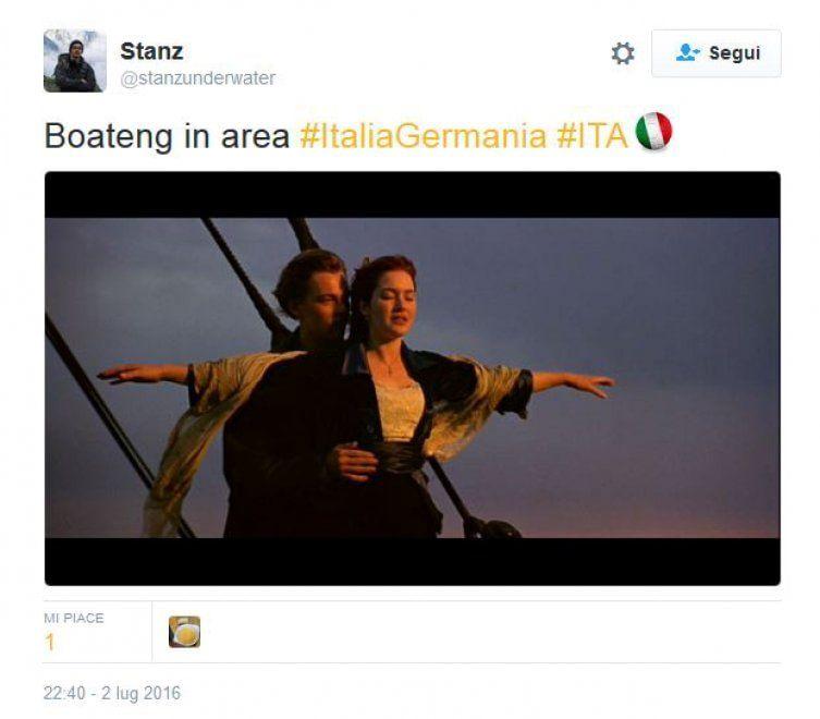 Italia vs Germania Euro 2016: il bar sport su Facebook e Twitter
