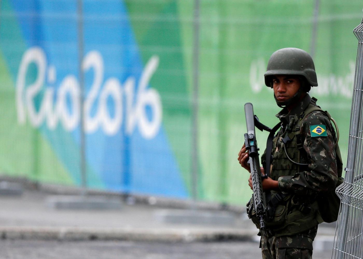 Rio de Janeiro, corpi speciali dell'esercito sorvegliano i siti olimpici