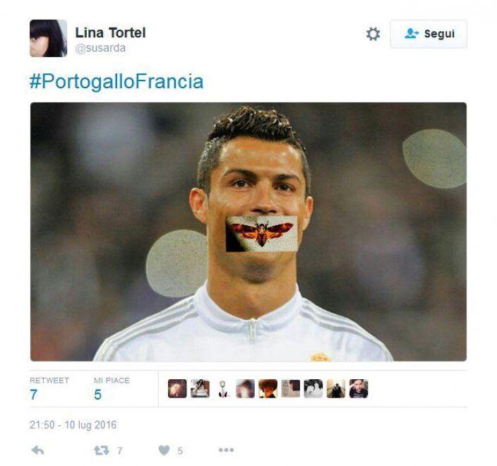 Ronaldo e la falena