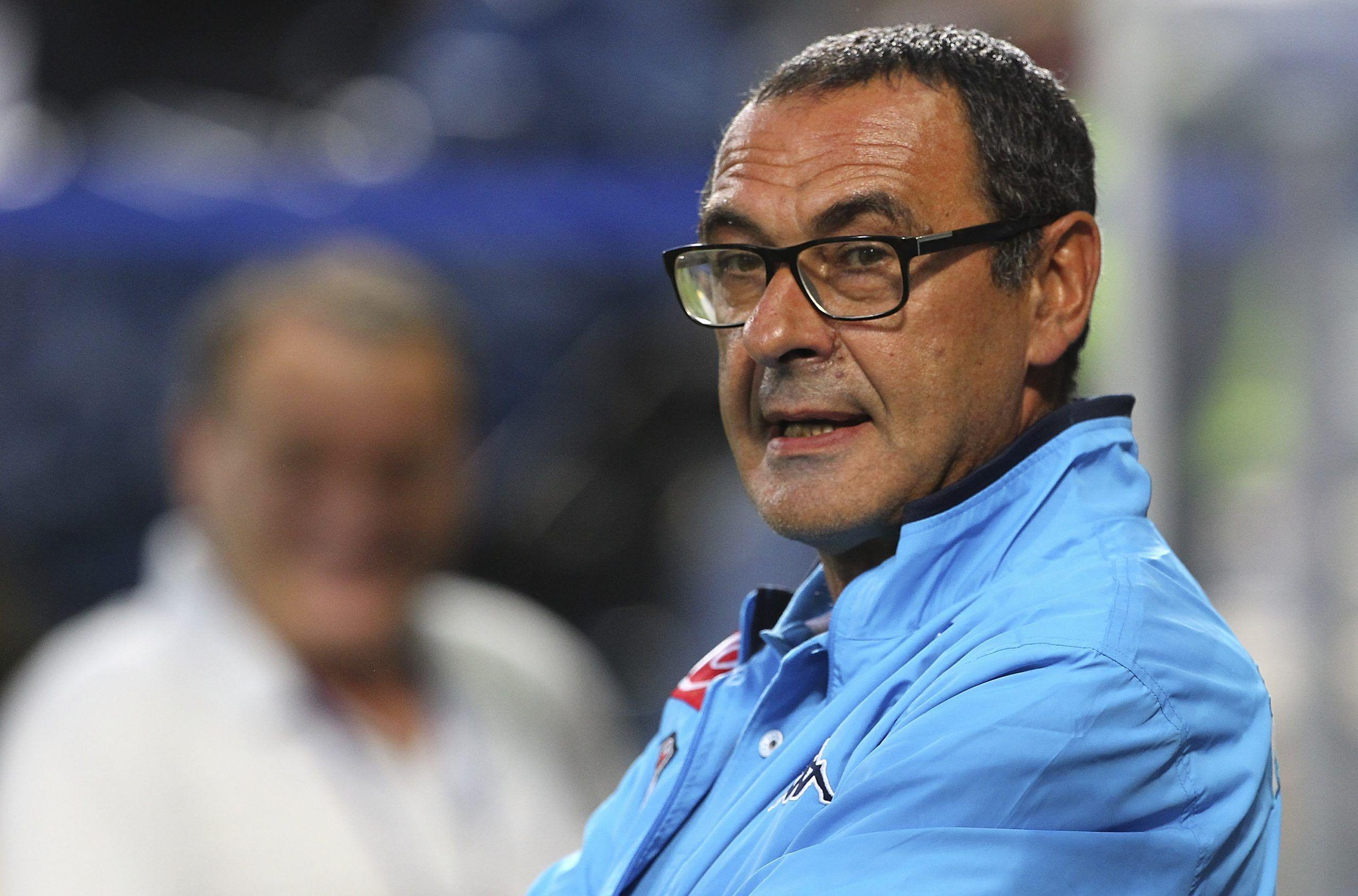 Maurizio Sarri, il Calciomercato del Napoli