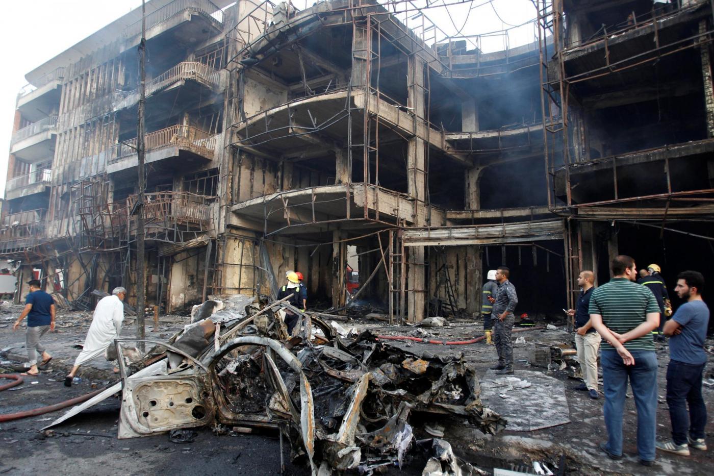 Iraq attentato a Baghdad
