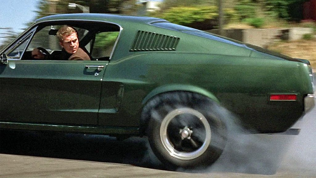 L'inseguimento in Bullitt tra Ford Mustang e Dodge Charger