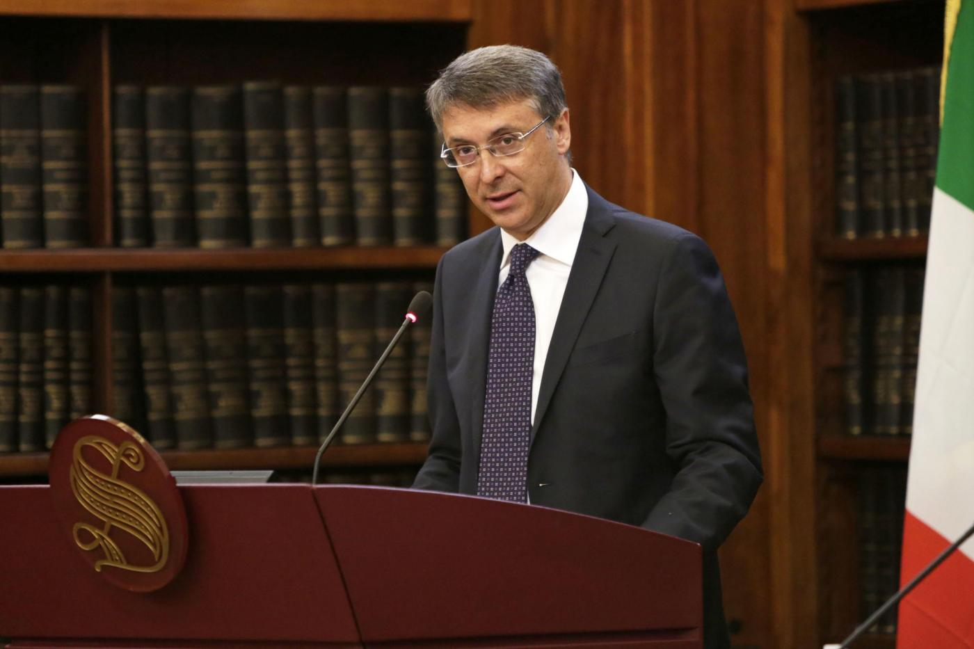 Cantone presenta la relazione annuale dell'Autorita Nazionale Anticorruzione