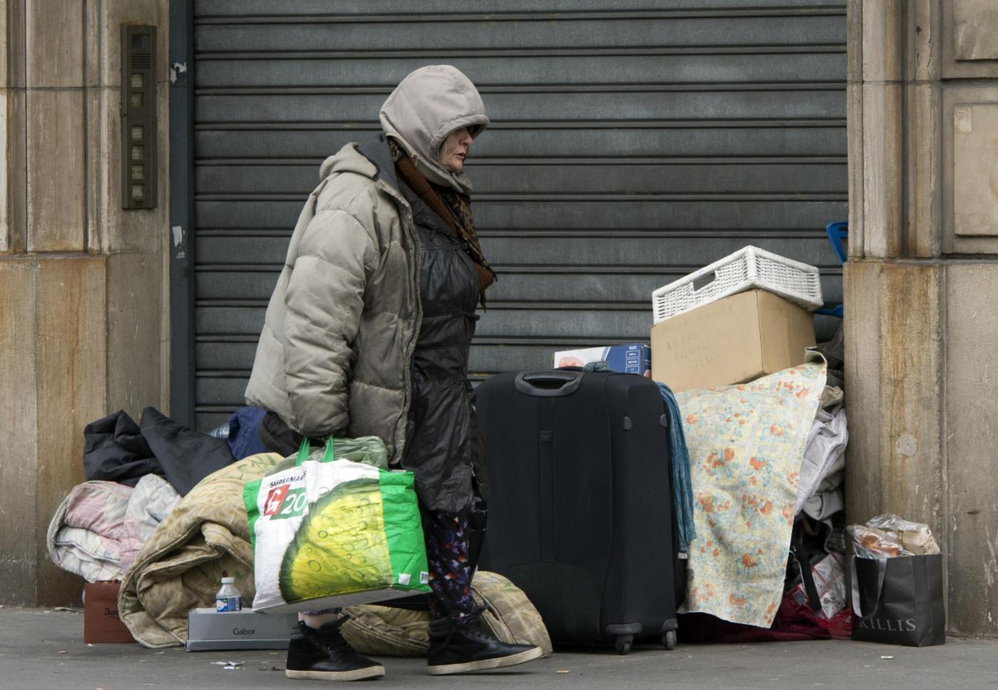 Maryse Dumas la senzatetto postata su Instragram dall'editore di Vogue
