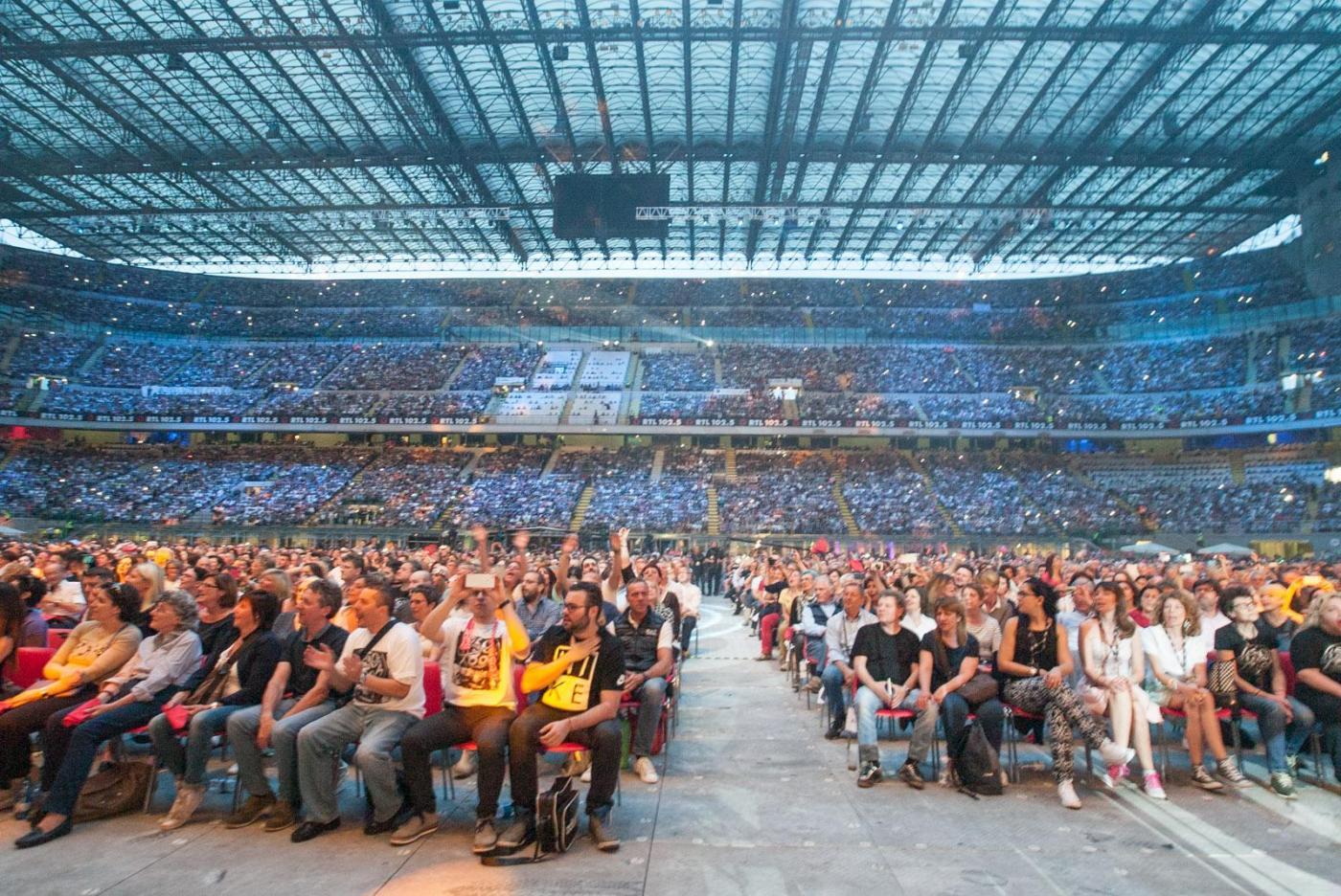 Concerto Pooh Reunion 2016 Stadio Meazza di Milano