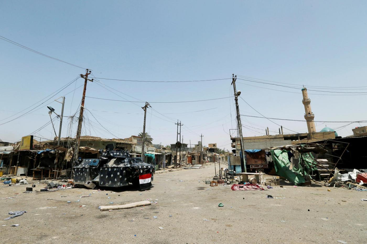 Iraq, le rovine di Falluja strappata all'IS