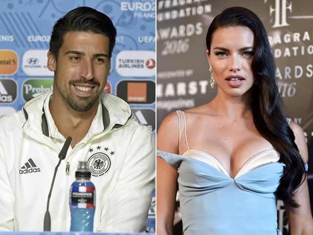 Sami Khedira e Adriana Lima insieme a Mykonos: è amore?