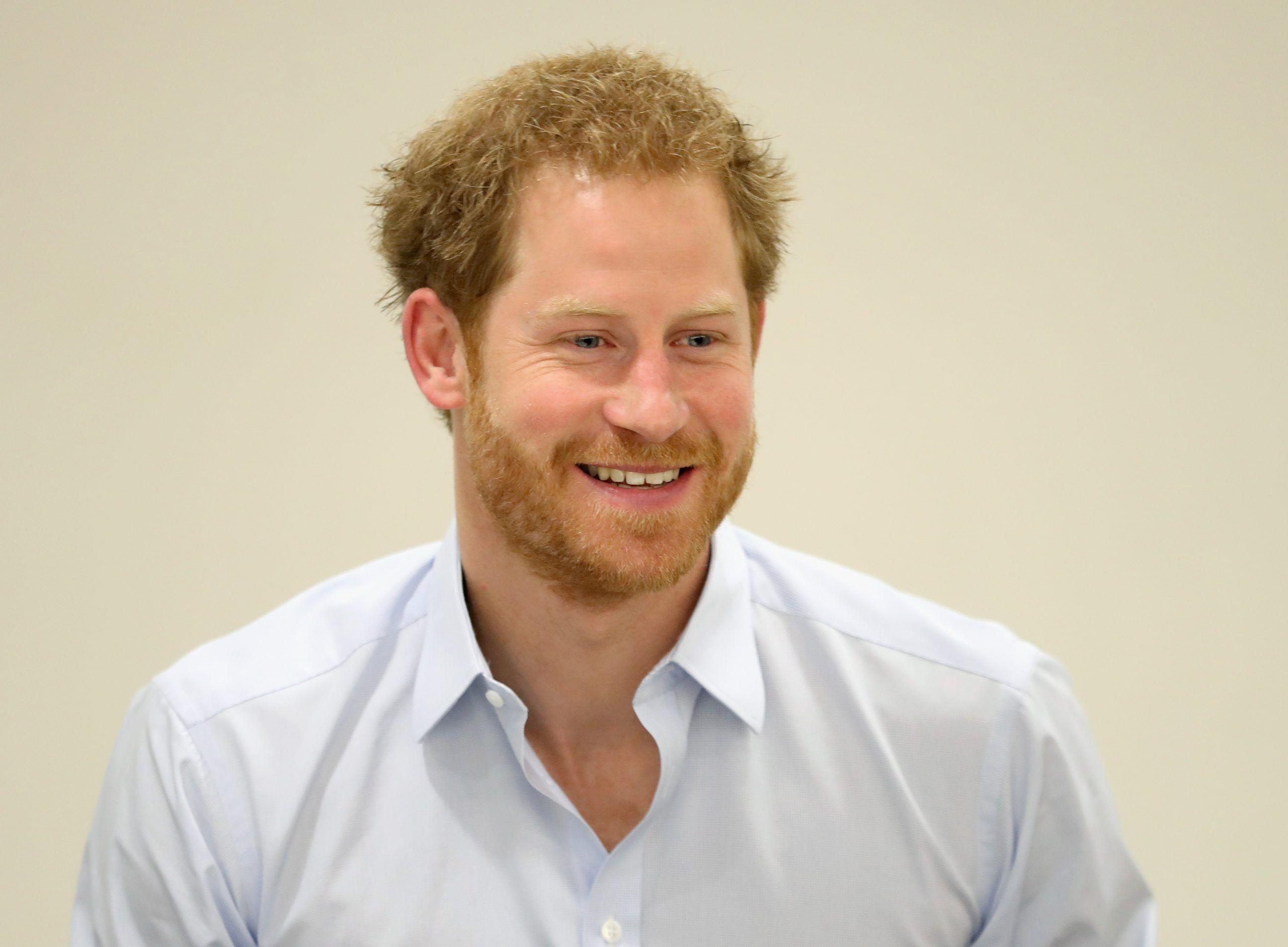 Il principe Harry al Burrell Street Sexual Health Centre di Londra
