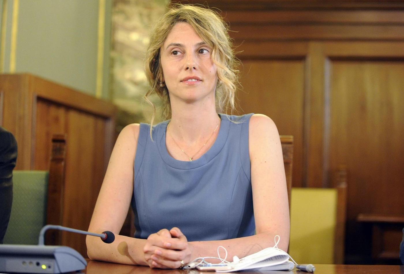 Roma, il ministro della Funzione Pubblica Marianna Madia incontra i sindacati