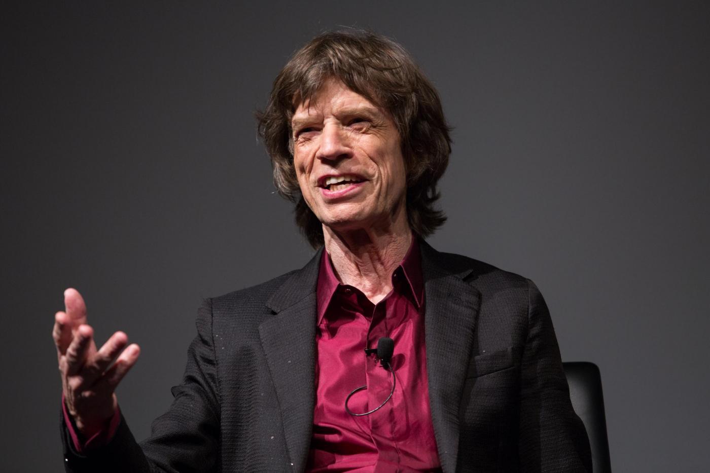 Mick Jagger diventa papà a 73 anni
