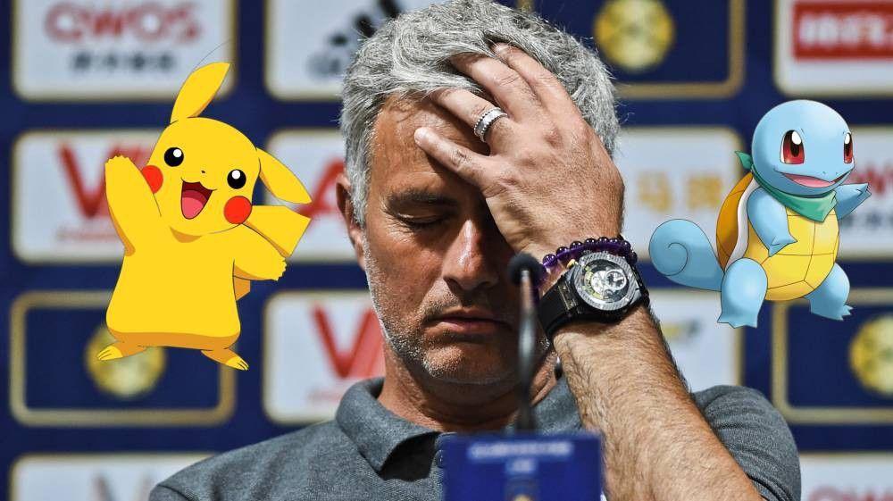 Mourinho vieta Pokemon Go: i calciatori non potranno giocare prima delle partite