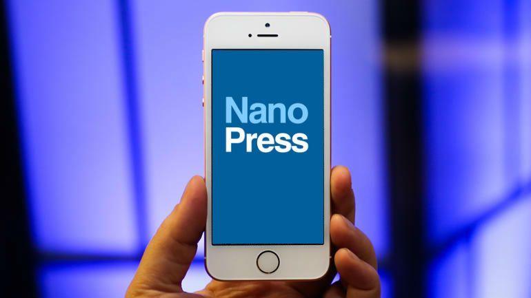 NanoPress su iTunes: scarica gratis l'app per iPhone e iPad