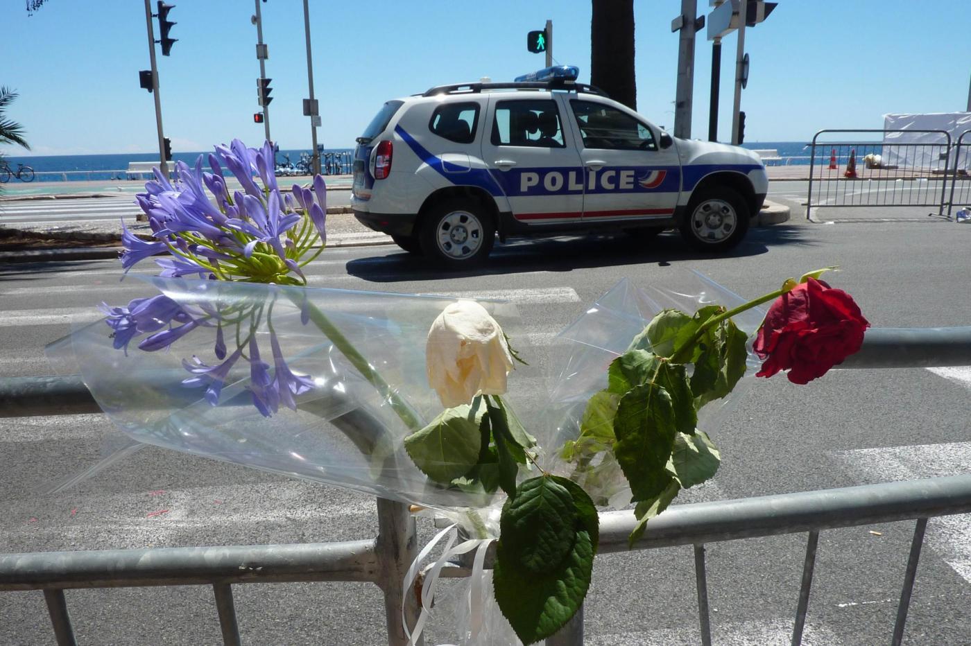 Nizza, commemorazione delle vittime della strage sulla Promenade