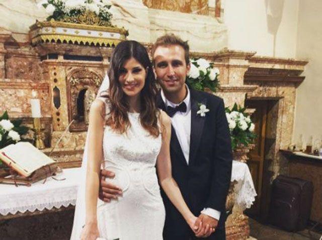 Pio D'Antini e la moglie Cristina Garofalo: sposi a Foggia