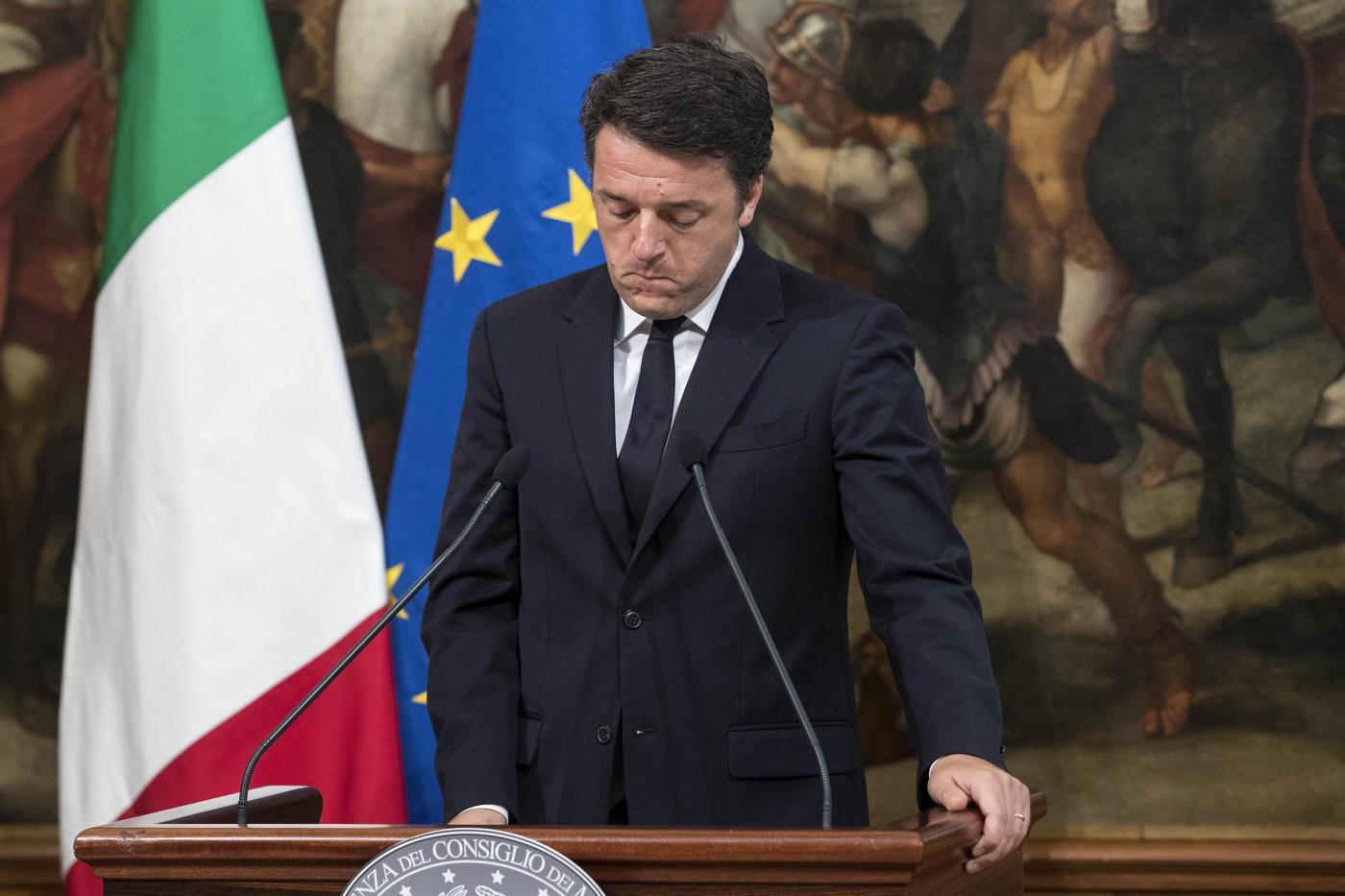 Palazzo Chigi Dichiarazioni di Matteo Renzi sull'attentato a Dacca