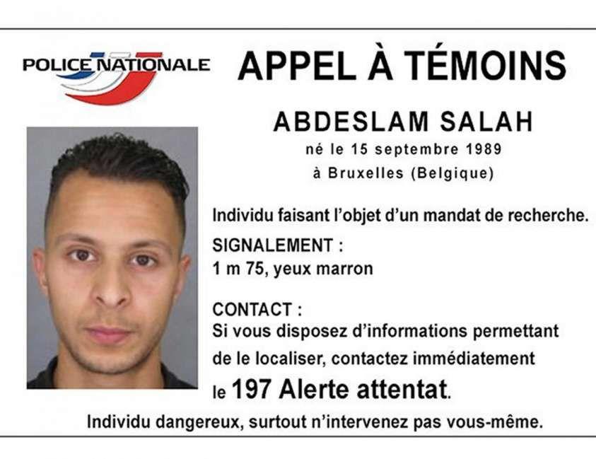Salah Abdeslam, detenuto in una grande cella con tv e palestra