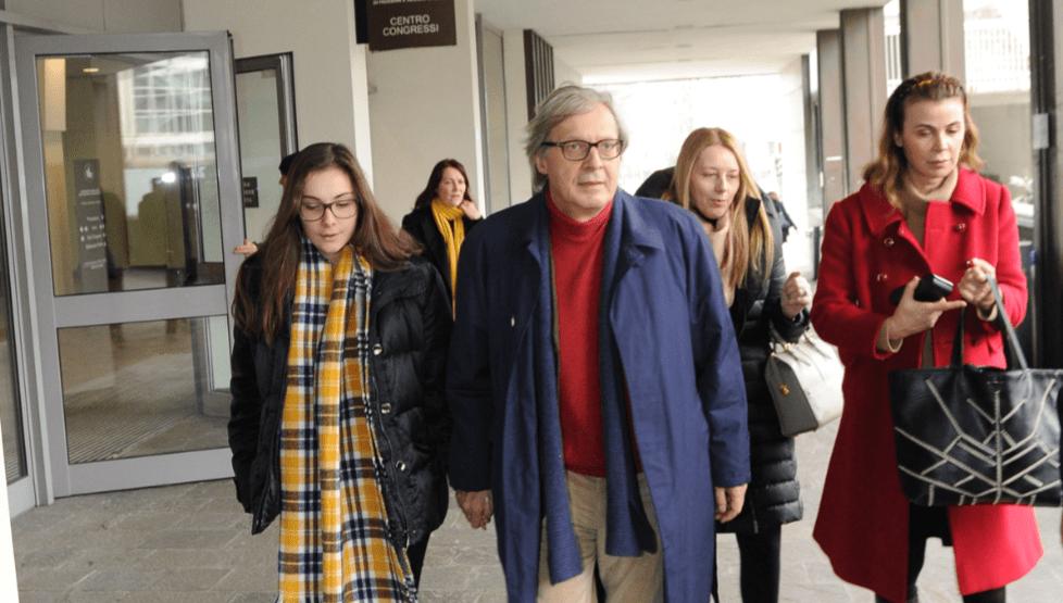 Vittorio Sgarbi e la figlia 'segreta' di nome Alba