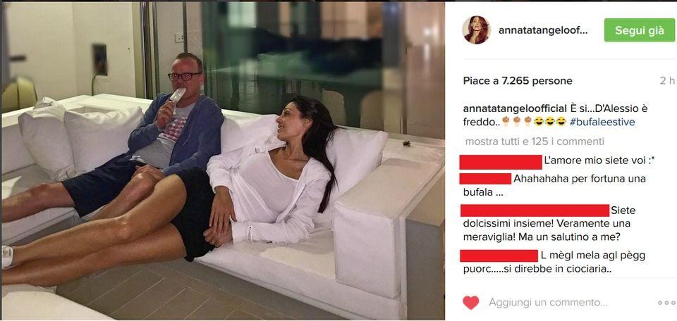Anna Tatangelo smentisce la crisi con Gigi D'Alessio