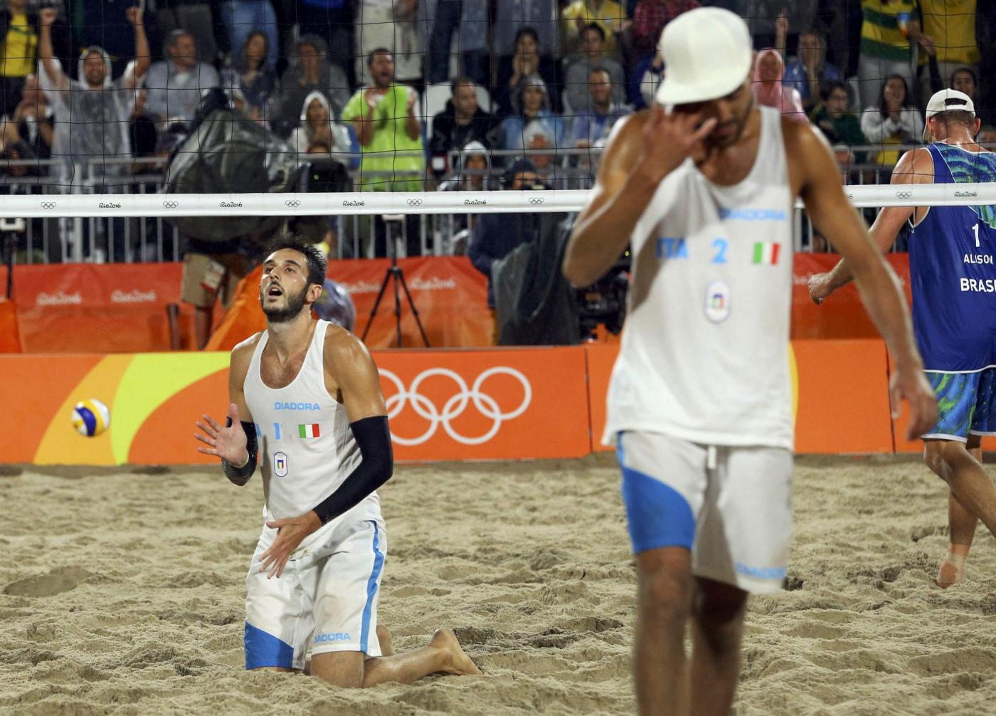 Olimpiadi 2016: argento per il beach volley con Lupo e Nicolai