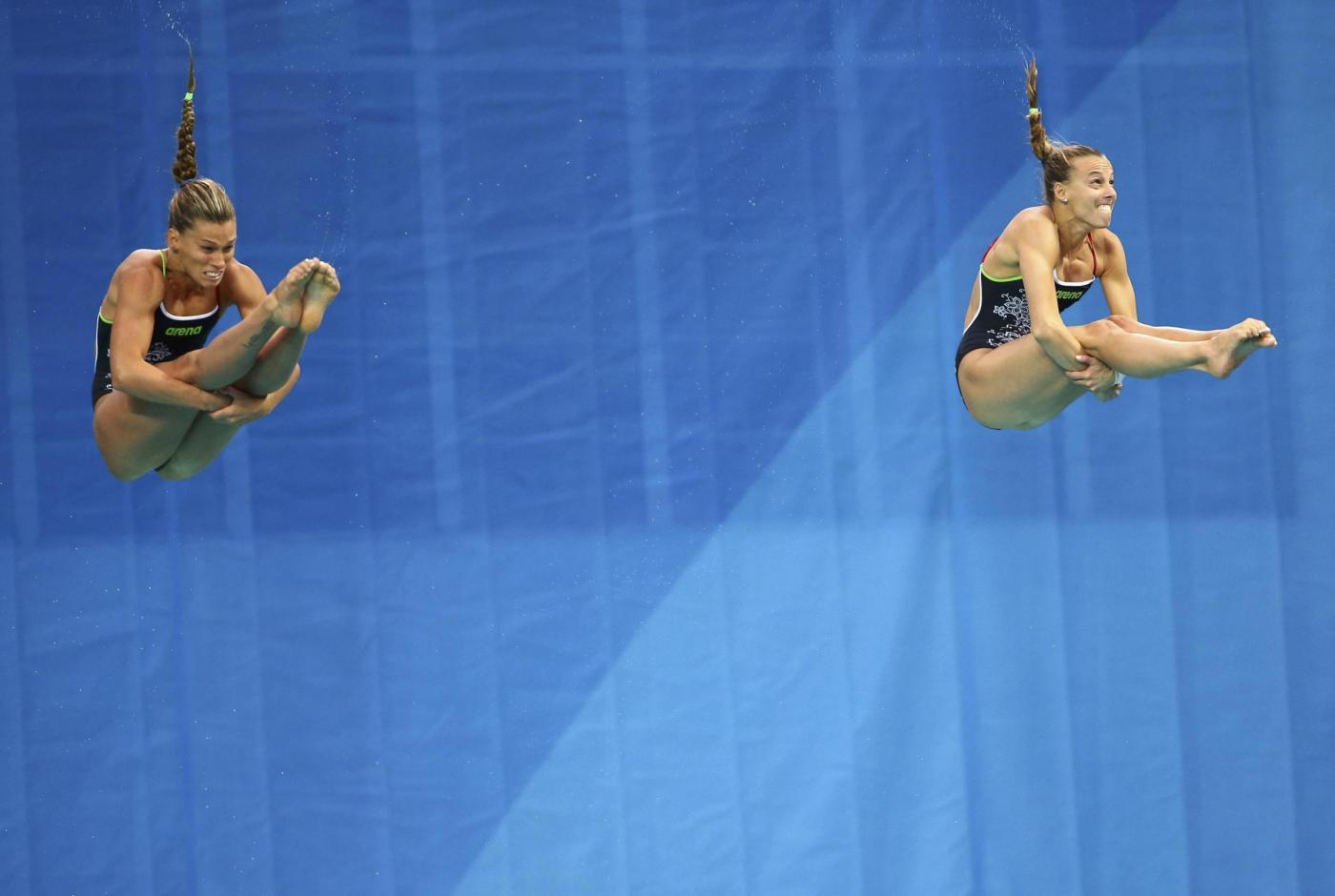 Olimpiadi 2016: Cagnotto-Dallapé argento nei tuffi sincro da 3 metri