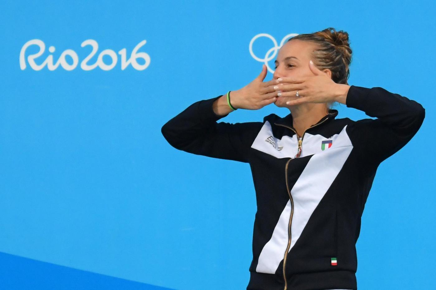 Olimpiadi 2016: Tania Cagnotto leggendaria, bronzo dai 3 metri