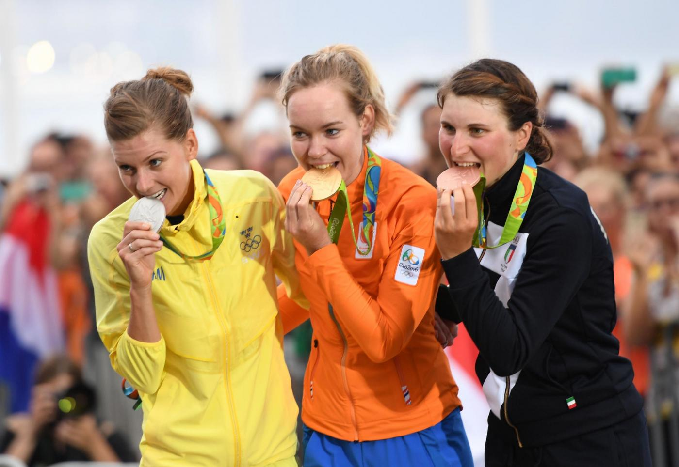 Rio 2016, ciclismo femminile: Elisa Longo Borghini conquista il bronzo