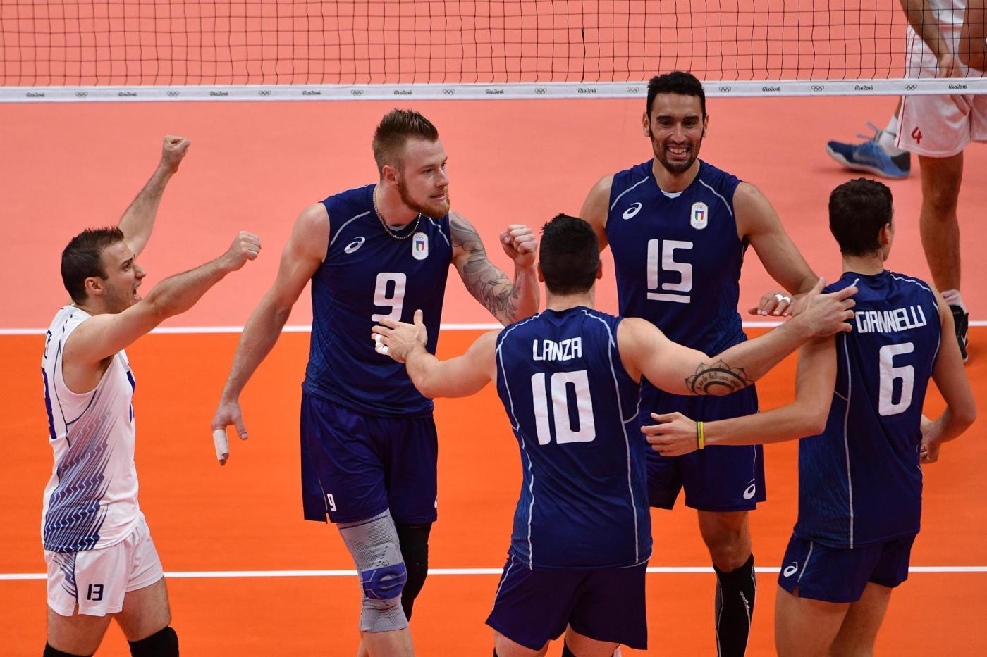 Rio 2016, volley maschile: Italia Iran nei quarti di finale