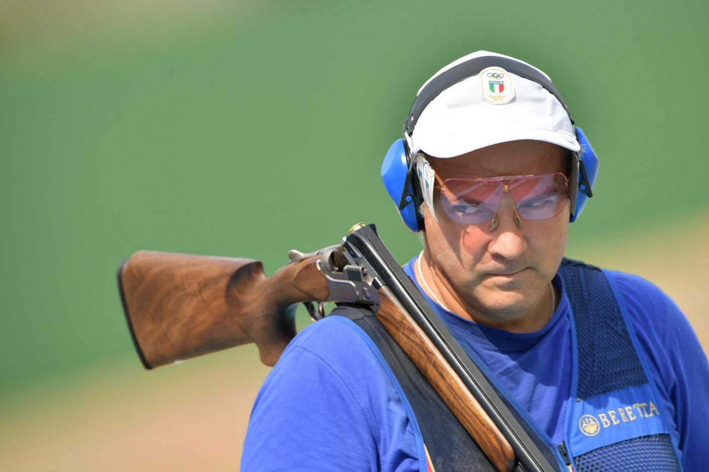 Olimpiadi 2016: Giovanni Pellielo argento nel trap