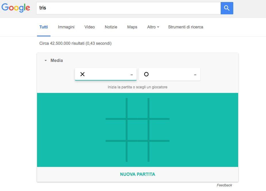 Come giocare a Tris e Solitario su Google: i nuovi mini-game a disposizione