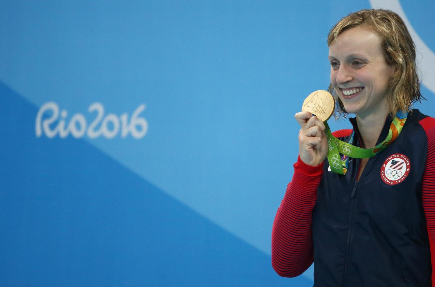 Olimpiadi Rio 2016, Katie Ledecky vince l'oro negli 800 stile