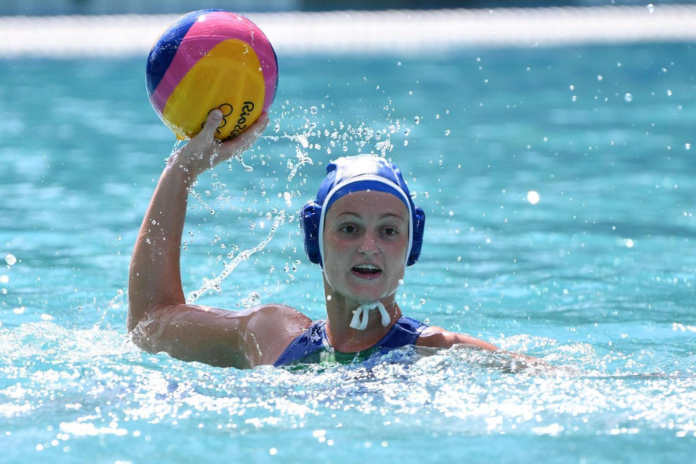 Italia vs Russia, pallanuoto femminile Olimpiadi Rio 2016