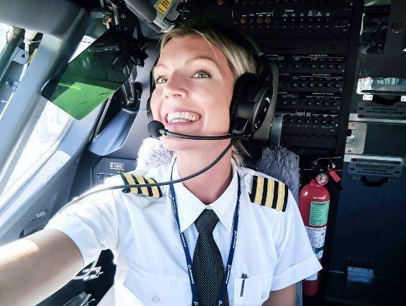 Maria Pettersson, la pilota più bella del mondo che vive in Sicilia