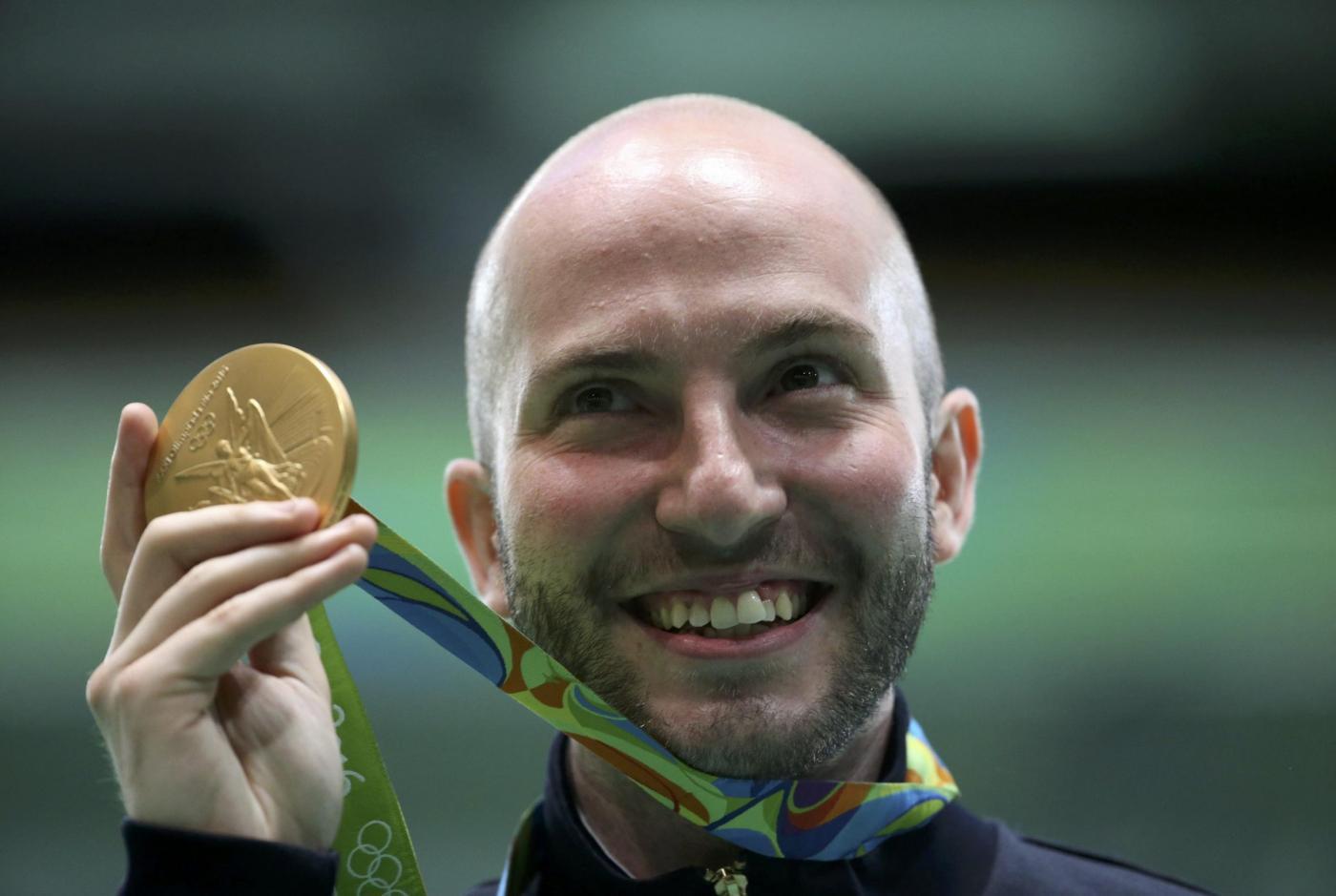Olimpiadi 2016: Niccolò Campriani oro anche nella carabina 50 metri tre posizioni